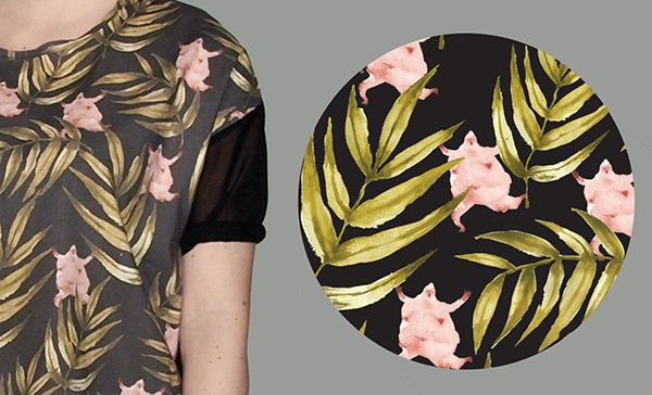 WEŹŻE textile and t-shirt design on Behance