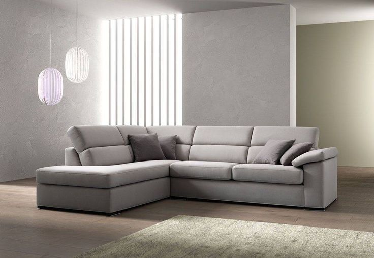 divano grigio con penisola - Cerca con Google