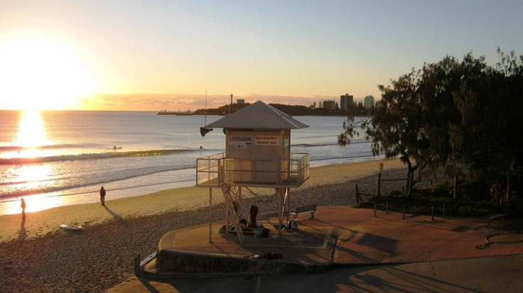Winter morning - Mooloolaba Beach - Sunshine Coast Australia