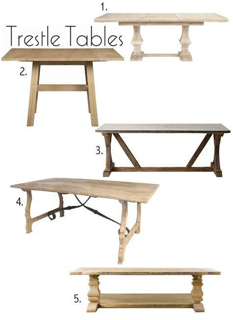 Best 25 Trestle tables ideas on Pinterest Farm style table