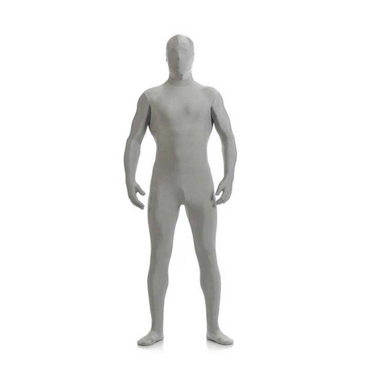 DJGRSTER Mens Lycra Full Body Zentai Suit Custom Second Skin Tight Suits Spandex Nylon Bodysuit Halloween Costume For Men