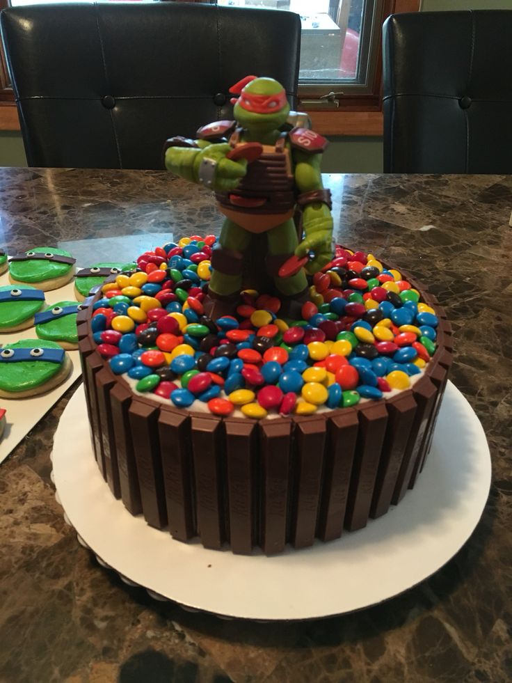 1000 Ideas About Ninja Turtle Cakes On Pinterest Ninja