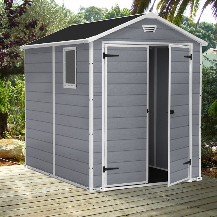 keter manor 6 x 8 ft storage shed remember its just common courtesy