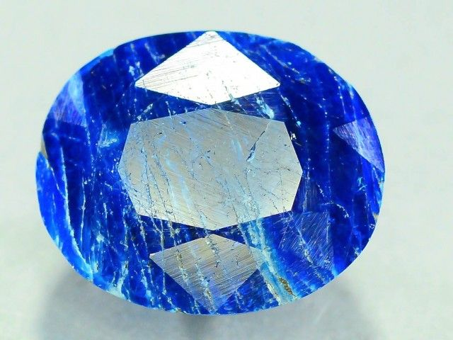 Rare 4.8 ct Natural Electric Blue Hauyne L.7 Collector's Gem