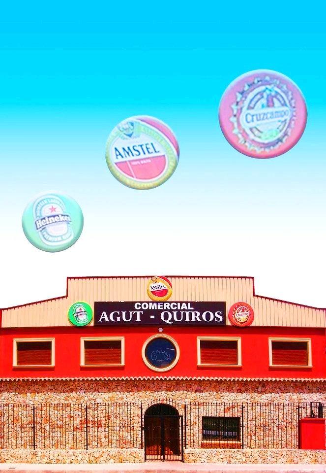 Instalaciones de Comercial Agut Quirós S.L. (fachada principal).