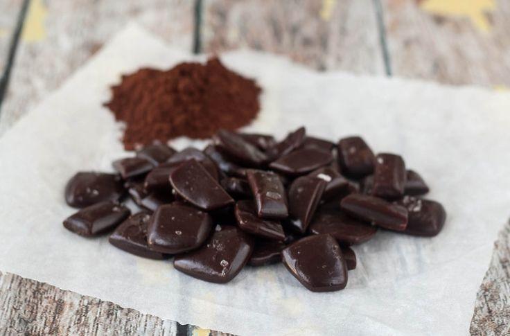 Opskrift på hjemmelavede Karameller med kakao i mikrovnen