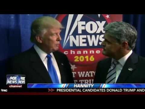 Donald Trump Hannity FULL Interview After First Presidential Debate - 9/26/16 - Fox News