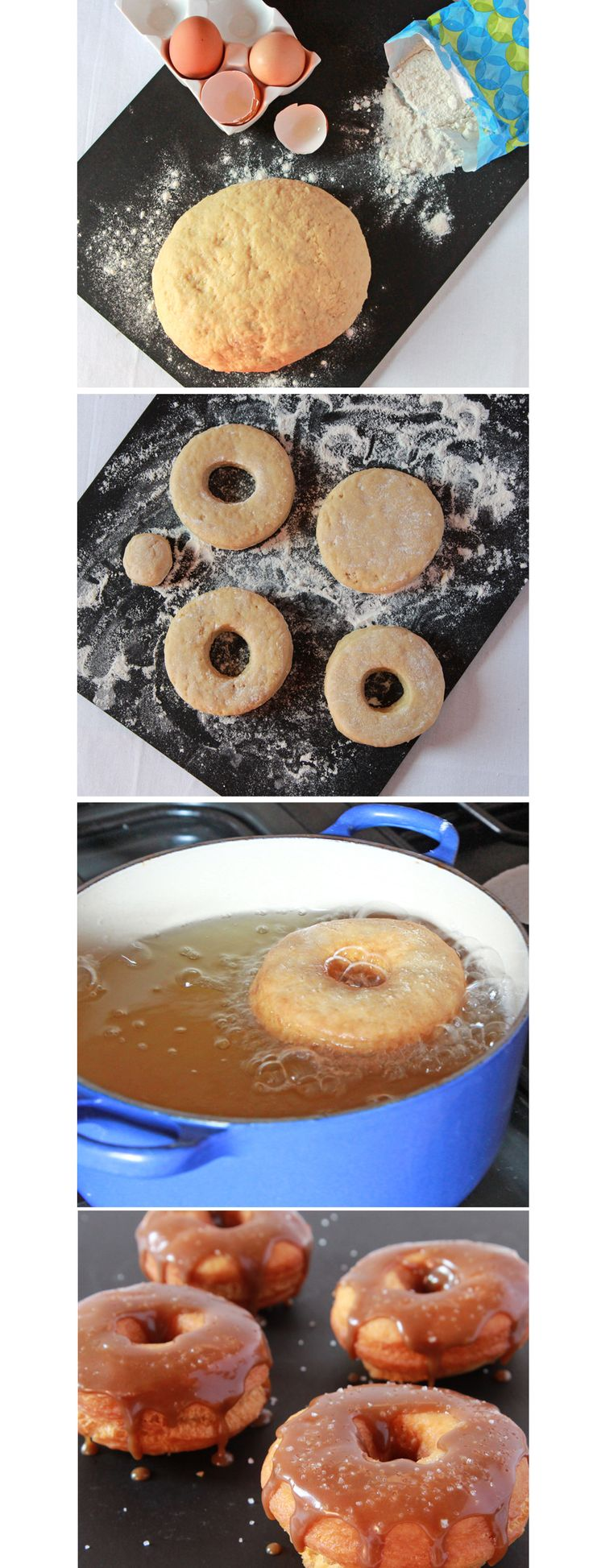 how to make ring doughnuts