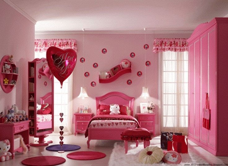 valentines decor ideas | valentine's day bed decoration ideas | Valentine's  day 2014 | Valentines day | Pinterest | Cupid, Corner and Red bedrooms