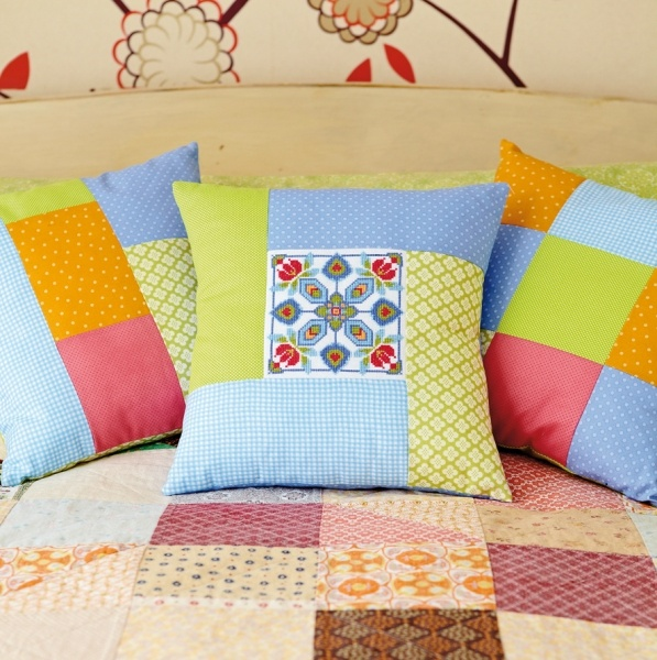 Perfect Patchwork Cushion