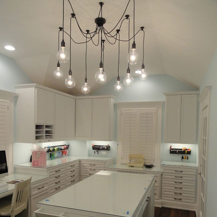 North America Rural Contracted Style Chandelier Ceiling Lights
