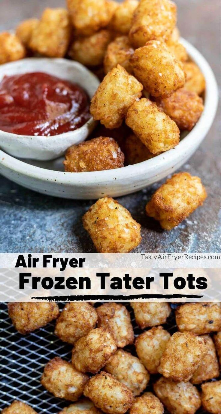 Frozen Tater Tots In Air Fryer Recipe in 2020 Air
