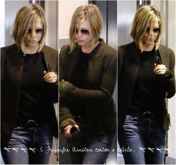 Cabelo podrinho da Jennifer Aniston / Chanel invertido