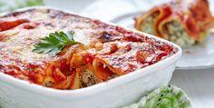 Cannelloni ricotta e spinaci by Piccole Ricette - http://www.piccolericette.net/piccolericette/Cannelloni-ricotta-e-spinaci