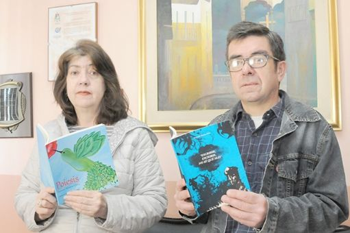 """LÁPIZ ANDANTE:: SUSANA Y FERNANDO MORENO ORTIZ:  """"Poiesis"""" y """"Escr..."""