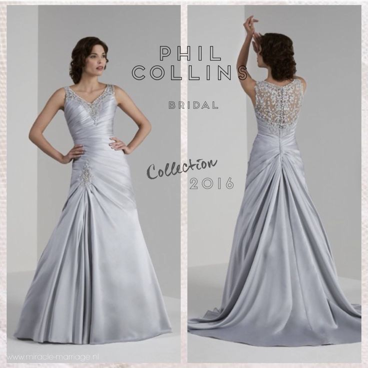 #miracleontwerpers Phil Collins Bridal  Collection 2016