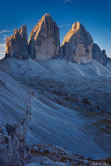 Tre Cime di Lavaredo, Dolomites, province of Belluno, Veneto, Northern Italy