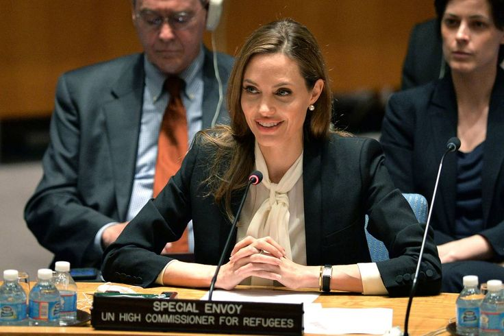 I appreciate Angelina Jolie's work on women's rights. We will never be taken down, we will keep on fighting