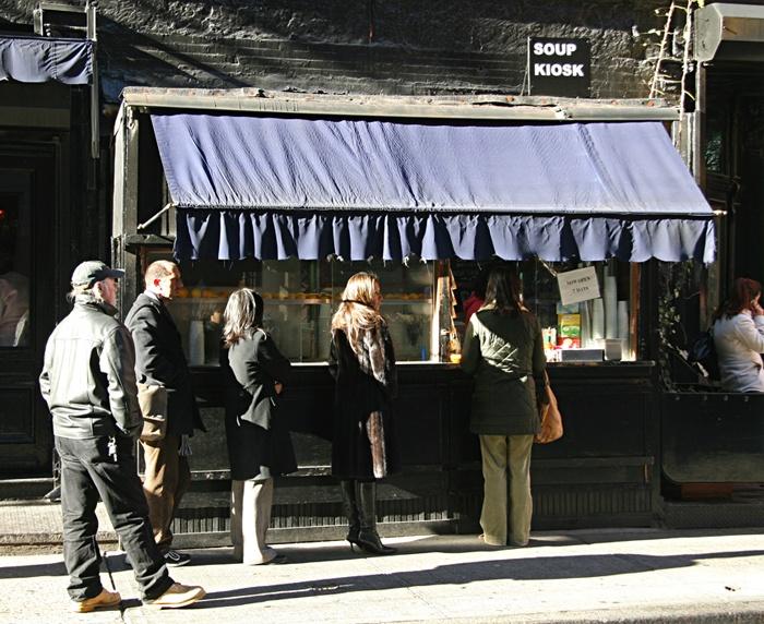 Soup Kiosk, 94 Prince St NYC