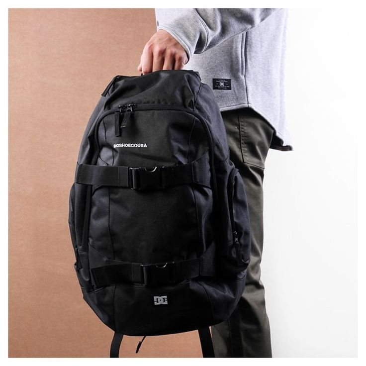 DC Wolfbred III Black #DC #DCBackpack #Wolfbred