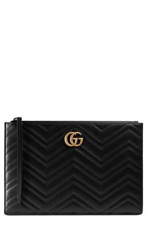 ce80b69f8bc Gucci GG Marmont Matelassé Leather Pouch  gucciclutch