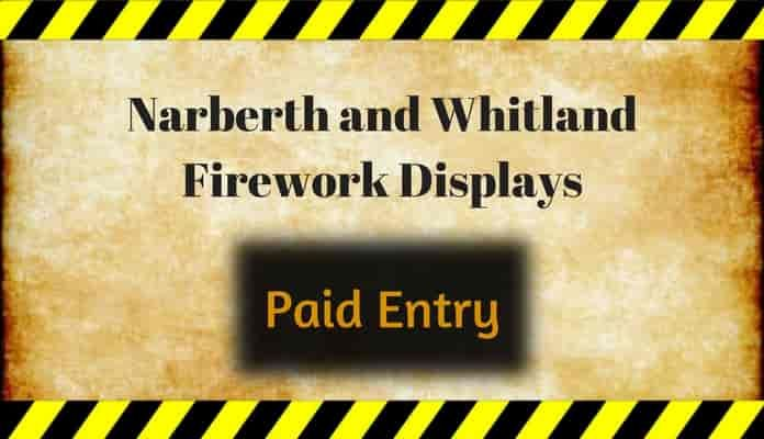Narberth and Whitland Round Table Fireworks