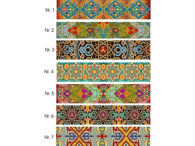 fliesenaufkleber bord re art stripes produkte kunst und streifen. Black Bedroom Furniture Sets. Home Design Ideas