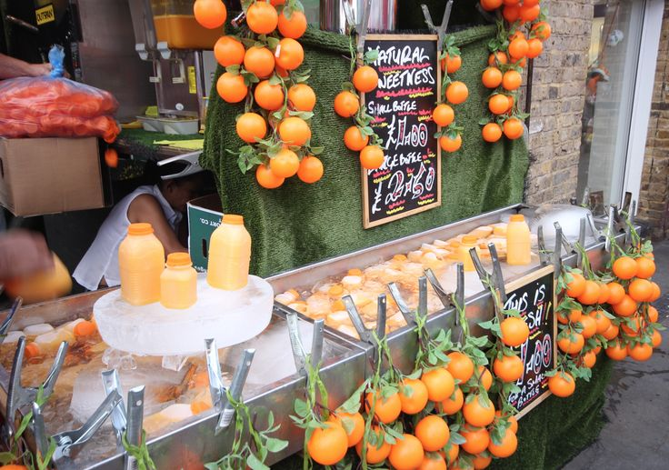 A not so secret one, but our orange juice stall is the best around and right on the corner of East Yard ramp.