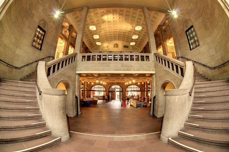 Eingangsbereich des Museums für Hamburgische Geschichte.
