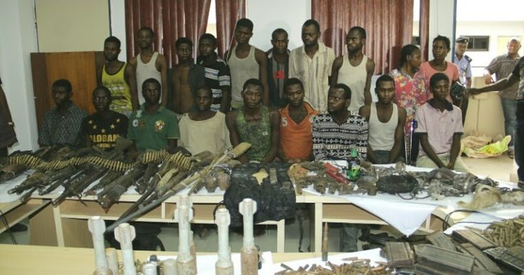 The police on Friday declared a prime suspect in recent wanton killings across Benue State wanted.  The authorities also announced the arrest of 17 suspects accused of participating in the killings and disclosed recovery of arms and ammunition allegedly used by the suspected killers.  A statement signed by police spokesperson Jimoh Moshood on Friday night said Terwase Akwaza a.k.a. Ghana was wanted for several killings including last months massacre of residents in Zaki Biam Benue State…