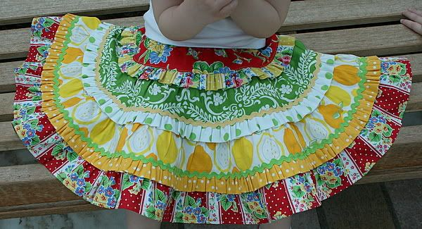 Cherry Lemonade twirly skirtTwirly Skirts, Children Sewing, Lemonade Twirly, Sewing Ideas, Sewing Inspiration, Cherries Lemonade