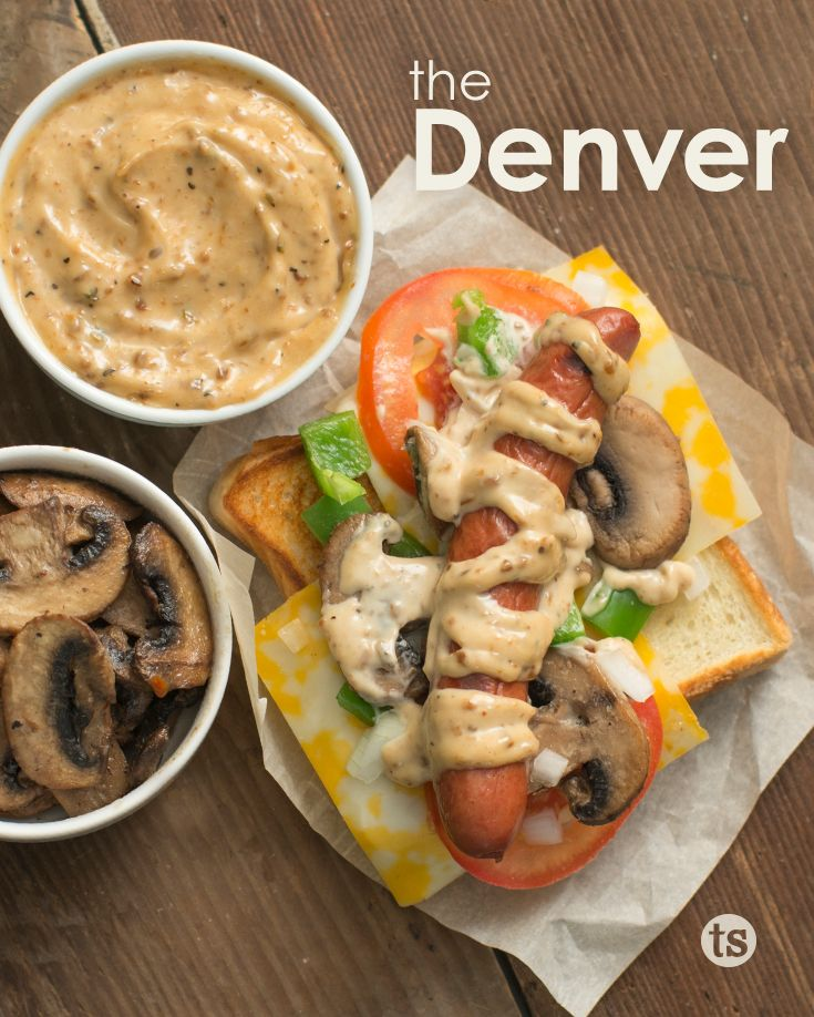 Denver Omelet Salad Recipe: 485 Best Hot Dogs Images On Pinterest