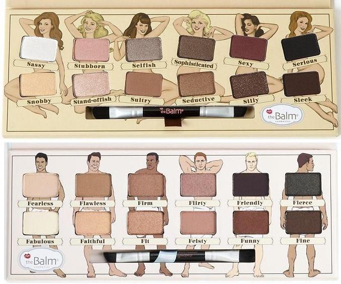 NEW theBalm Nude Dude Eyeshadow Palette next to theBalm Nude 'Tude Eyeshadow Palette