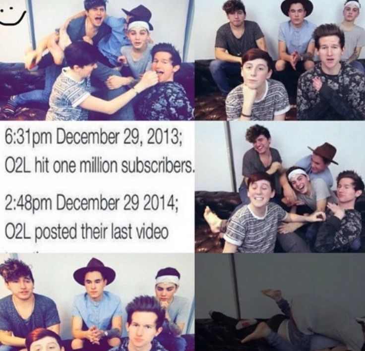 I'm crying so much right now why is this happening now I'm so sad #O2Lforever