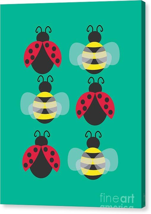 I'm offering 10 canvas prints of 'Ladybugs and bees' at the price of $55! Hurry up, before they run out (or the promo expires on February the 17th, whichever comes first)!