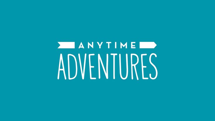 Anytime Adventures Branding - with The Cut