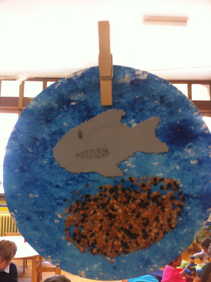 'Under the sea' craft activity