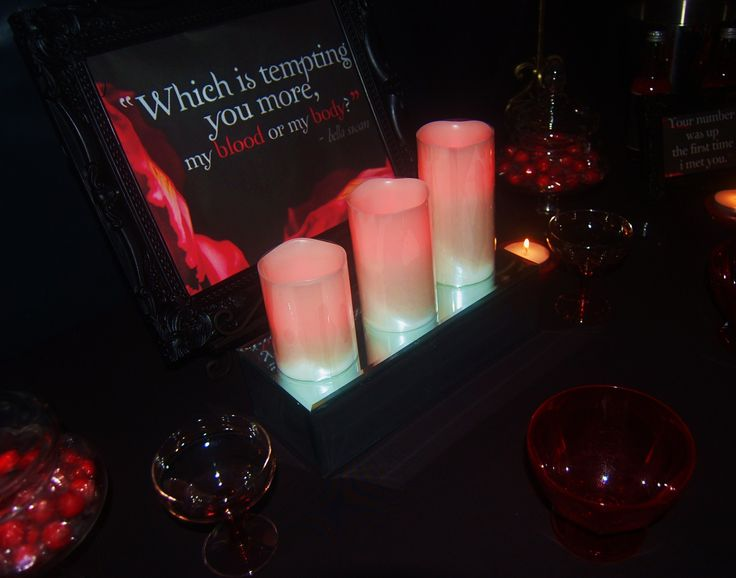 Remote controlled candles