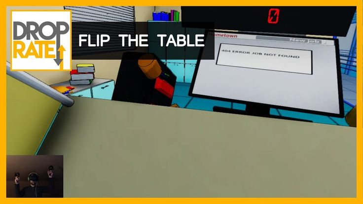 Flip The Table (Steam, VR)