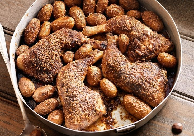 Akis pirate chicken. Possibly one of the tastiest roast chickens you've ever had! I call it Pirate chicken because of the spices and sugar that were in high demand in those times and because of the ...