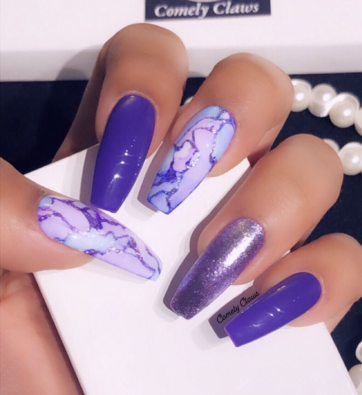 Rose Gold Acrylic Nails Grey - Nail and Manicure Trends