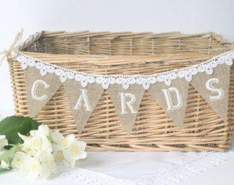 Shabby Chic Wedding Ideas Card BasketWedding