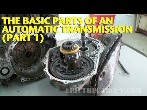 Eric the Car Guy's exploration of the transmission, part 1.