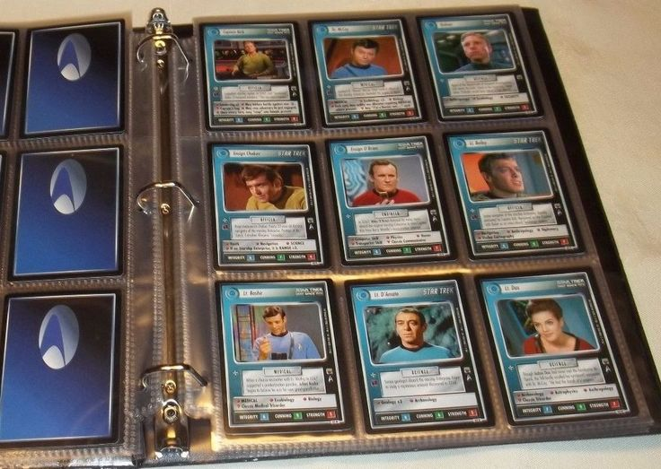DECIPHER STAR TREK CCG The Trouble With Tribbles COMPLETE SET 141 CARDS w/UR +1 #Decipher