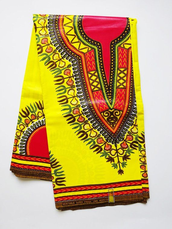 Dashiki african print fabric by yards for African Print dress African  Clothing Angelina cloth, cotto   African fabric, African print fabric,  Dashiki fabric