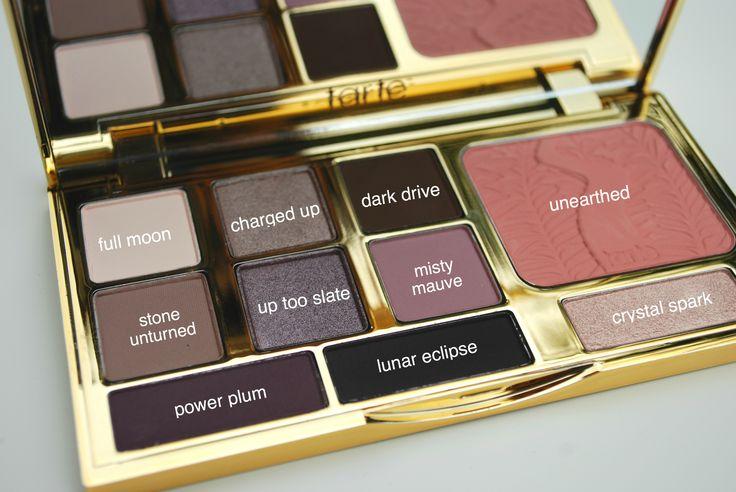 Tarte Energy Noir Clay palette! How does it measure up? #makeup #review #tartecosmetics
