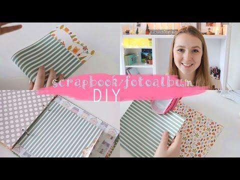 Fotoalbum oder Scrapbook selber basteln | DIY Dienstag - YouTube