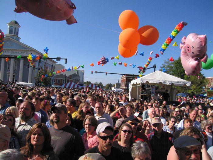 10 great food festivals in North Carolina