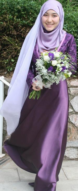 Beautiful Syrian wedding dress Perfect Muslim Wedding