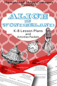 Alice Lesson Plans - Theatre Education - Elementary Drama - Middle School Drama - Plays - Teachers - Alice in Wonderland - Literature - Activities - Library